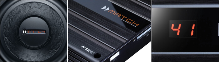 Match Caraudio Produkte