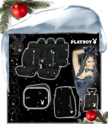 Playboy Schonbezüge Fussmatten Sitzbezüge