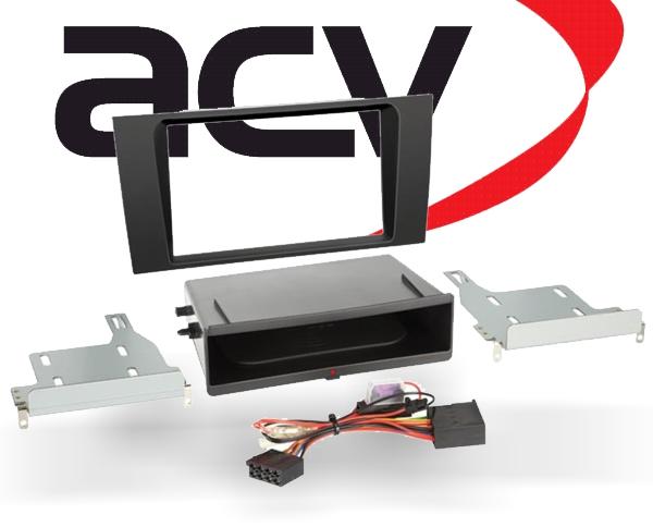 Radioblende Radiorahmen 1 DIN für Audi A4 B5 Inbay Handyladestation