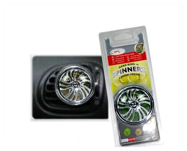 Lufterfrischer Chrome Spinnerz lemon
