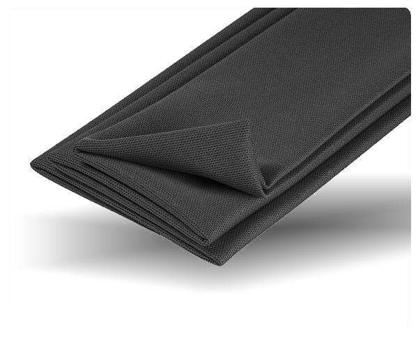 Akustikstoff / Bezugsstoff für Boxenbau schwarz