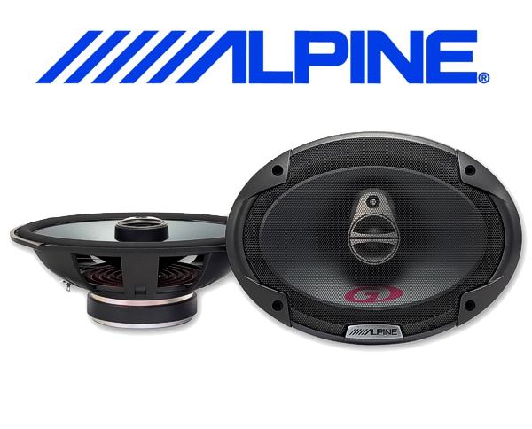 Alpine Auto Lautsprecher Triax 15x23cm 90W SPG-69C3