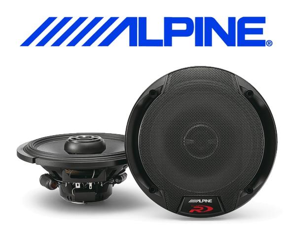 Alpine Auto Lautsprecher Koax 16,5cm 100W SPR-60