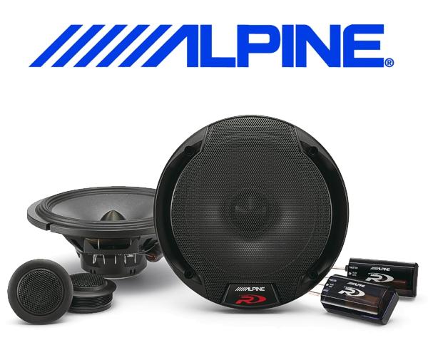 Alpine Auto Lautsprecher System 16,5cm 110W SPR-60C