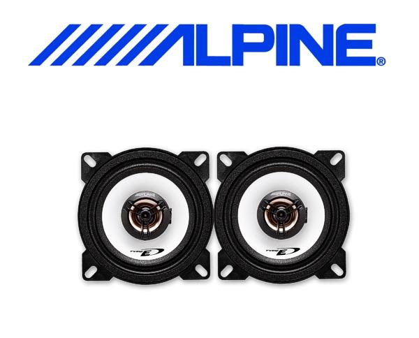 Alpine Auto Lautsprecher Koax 10cm 25W SXE-1025S