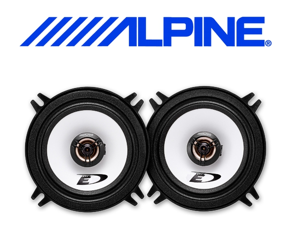 Alpine Auto Lautsprecher Koax 13cm 35W SXE-1325S