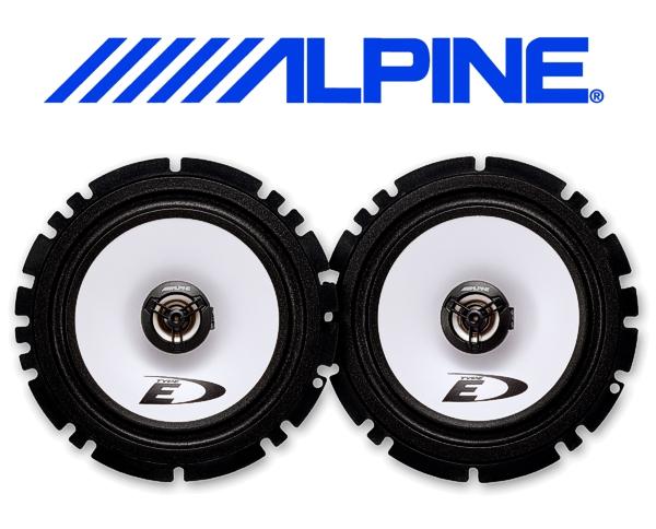 Alpine Auto Lautsprecher Koax 16.5cm 40W SXE-1725S