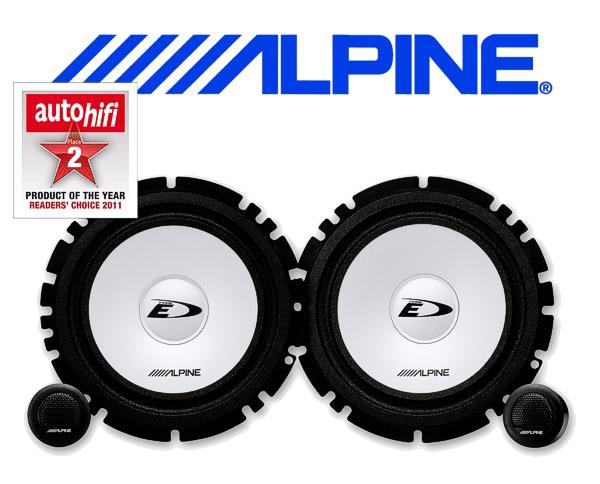 Alpine Auto Lautsprecher System 16.5cm 45W SXE-1750S