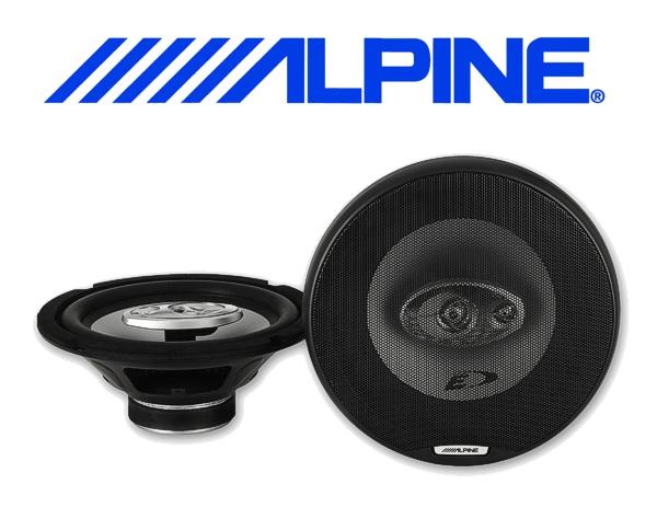 Alpine Auto Lautsprecher Triax 20cm 45W SXE-2035S