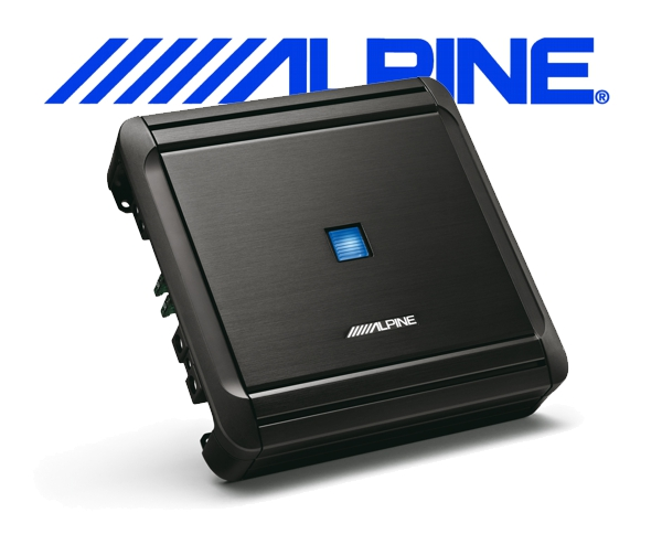 Alpine Auto Verstärker Endstufe MRV-M500 1x 300W