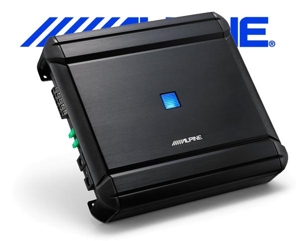 Alpine Auto Verstärker Endstufe MRV-V500 4x 40W 1x 150W