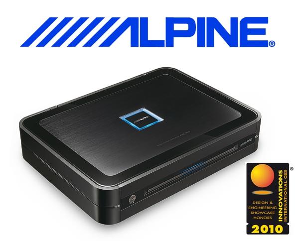 Alpine Auto Verstärker Endstufe PDX-M12 1x 1200W