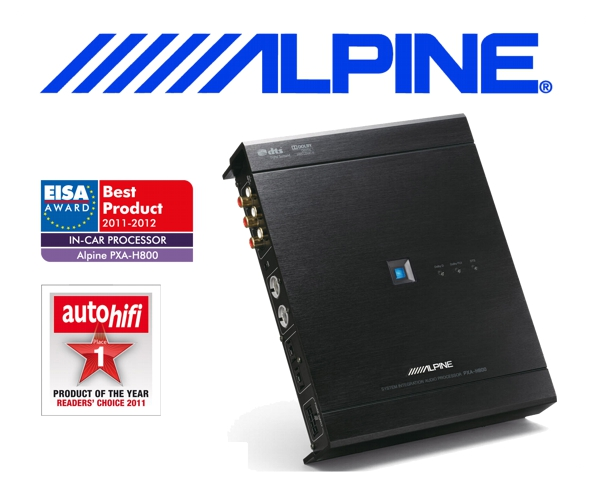 Alpine 5.1 Surround Sound Audio-Prozessor PXA-H800
