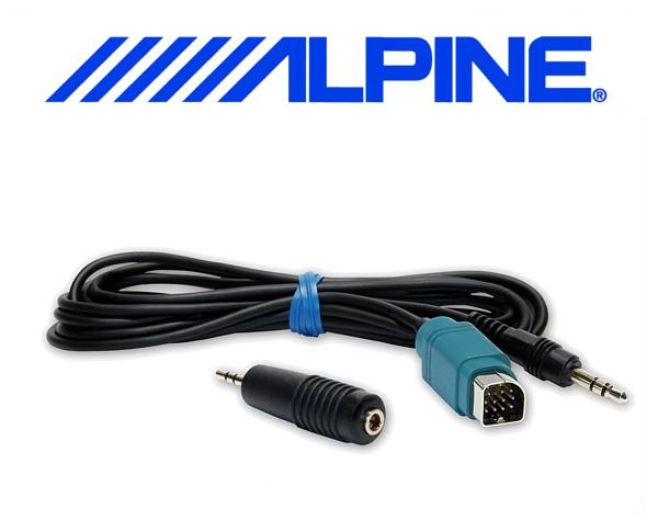 Alpine Full Speed AUX Anschlusskabel KCE-237B