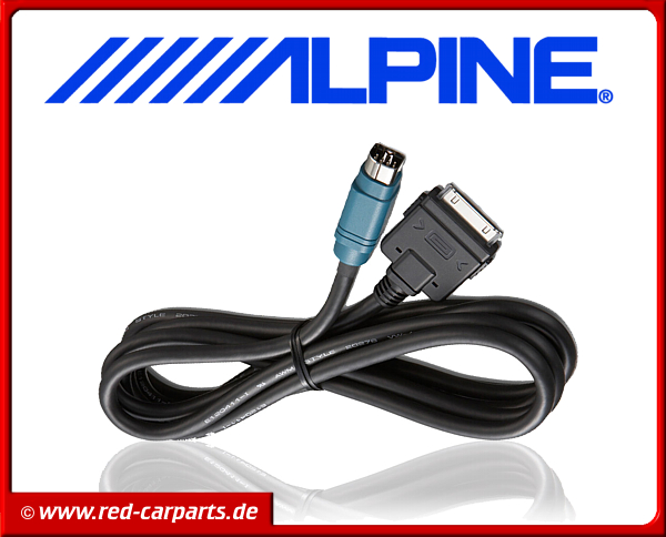 Alpine Full Speed iPhone/iPod Anschlusskabel KCE-433iV