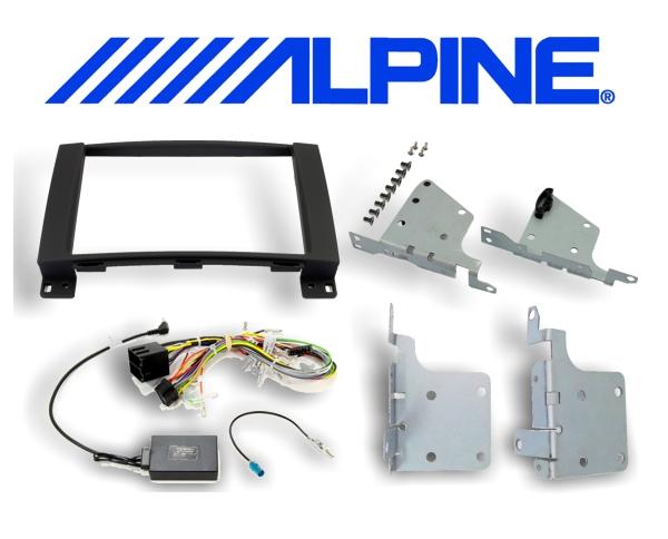 8 Einbauset KIT-8MBI Mercedes für Alpine INE-W928R