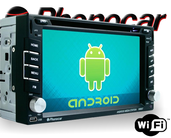 Phonocar Android Multimedia Station VM007 DVD Bluetooth GPS