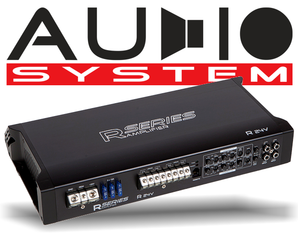 Audio System Car Audio LKW Endstufe Radion R24V