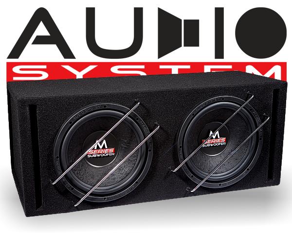Audio System Subwooferbox M 12 BR-2
