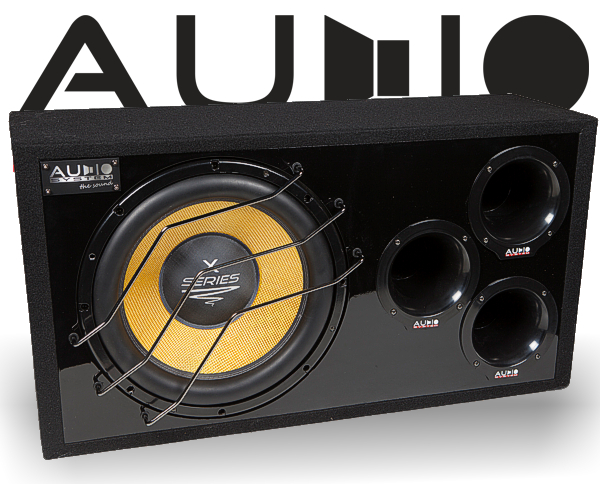 Audio System Subwooferbox X 15-1100 BR