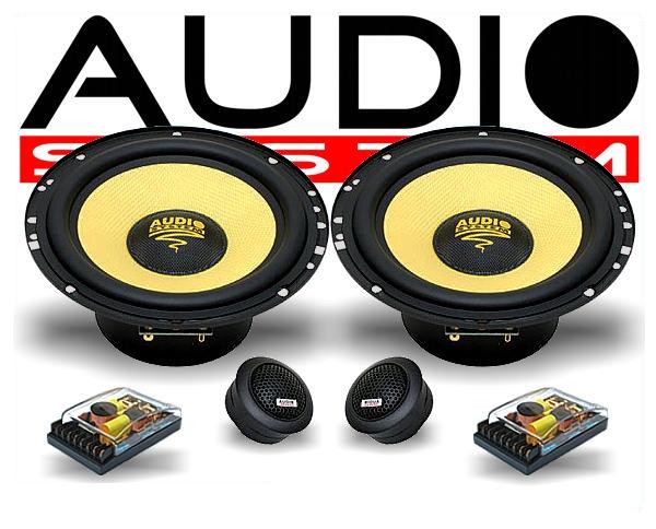 Audio System Audi Lautsprecher-Set X 165 Audi A3 A4