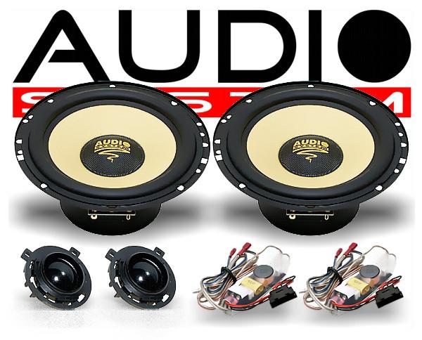 Audio System X165 Golf VI VII 2-Wege Spezial Front-System VW