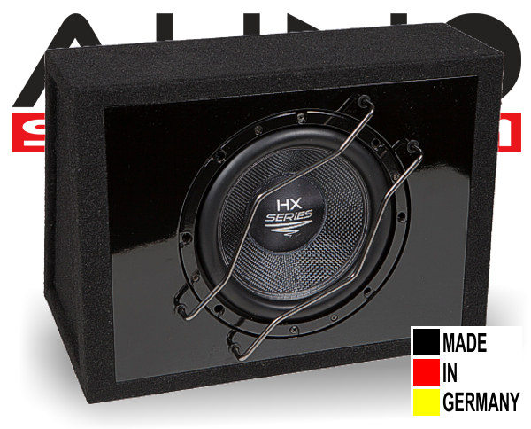 Audio System Subwooferbox HX 12 SQ G
