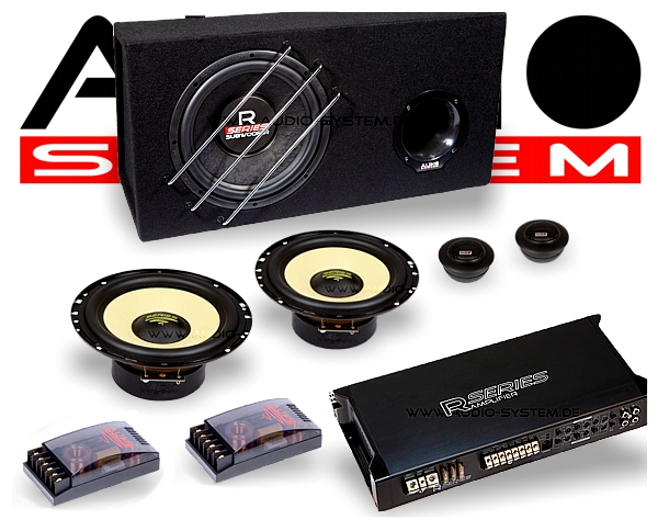 Audio System Car Hifi Anlage Komplettset Radion Serie