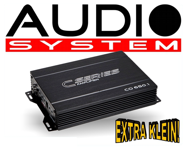 Audio System Car Audio Endstufe CO 650.1