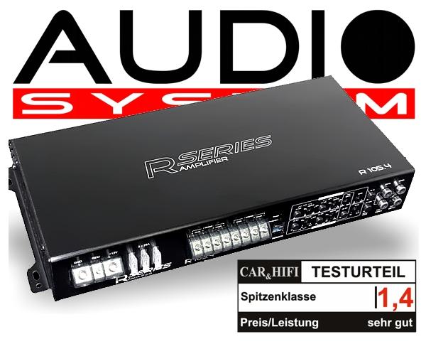 Audio System Car Audio Endstufe R 105.4