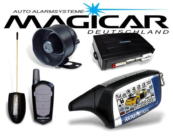 Magicar Autoalarmanlage M2 mit Keyless Go