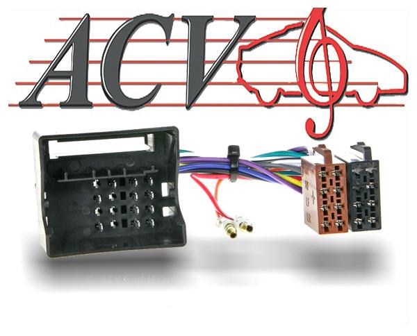 Radioadapter Autoradio Adapter Mercedes W209, X164, W906, W639
