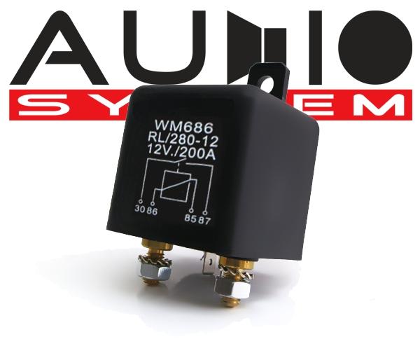 Batterie Trennrelais Hochleistungs Trennrelais 200A z.B. für Zusatzbatterie Audio System Z-Relay