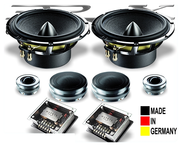 Brax 3-Wege HighEnd Lautsprecher-System M6.3PP