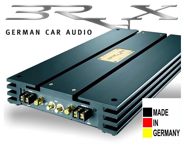 Brax High End Car Hifi Endstufe X-Serie X2000.2 schwarz
