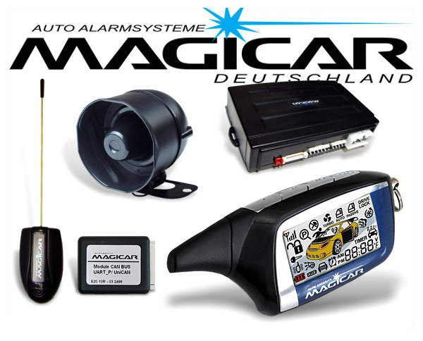 Magicar CAN-Bus Autoalarmanlage M2CAN mit Keyless Go