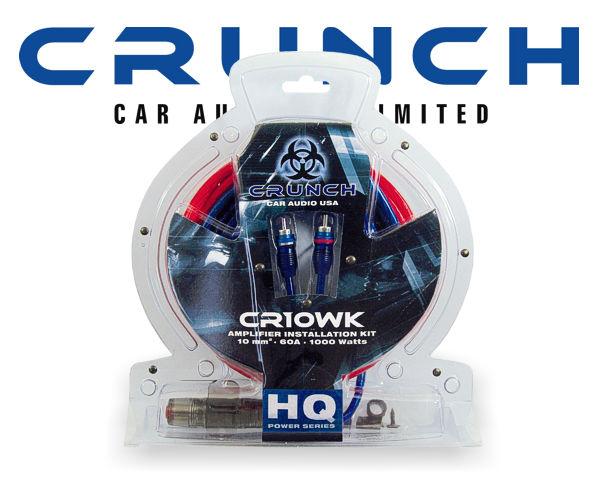 Endstufen Kabelsatz Crunch CR10WK