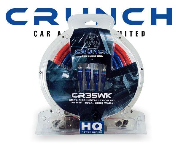 Endstufen Kabelsatz Crunch CR35WK