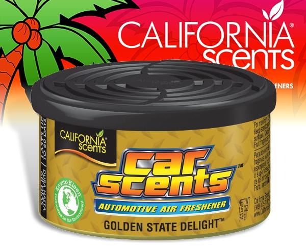 California Scents CarScents air fresh Lufterfrischer - Golden State Delight