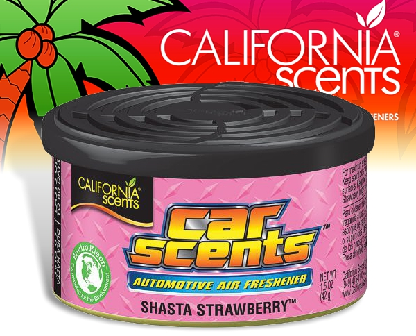 California Scents CarScents air fresh Lufterfrischer - Strawberry Shasta
