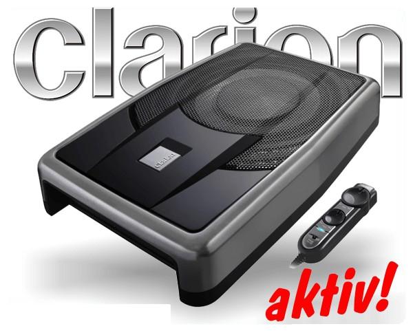 Clarion aktiver Subwoofer SRV250