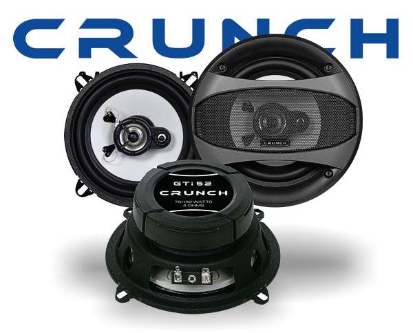 Crunch GTi 2-Wege Auto Lautsprecher Koax GTi-52
