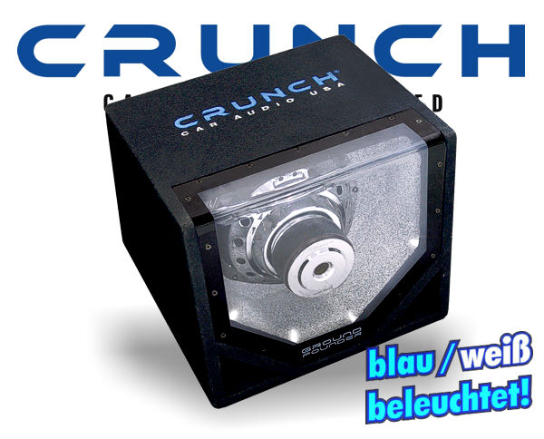 Crunch GroundPounder Single Bandpass GPX-10BP
