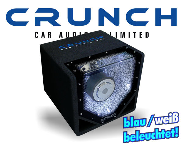 Crunch GroundPounder Single Bandpass GPX-8BP