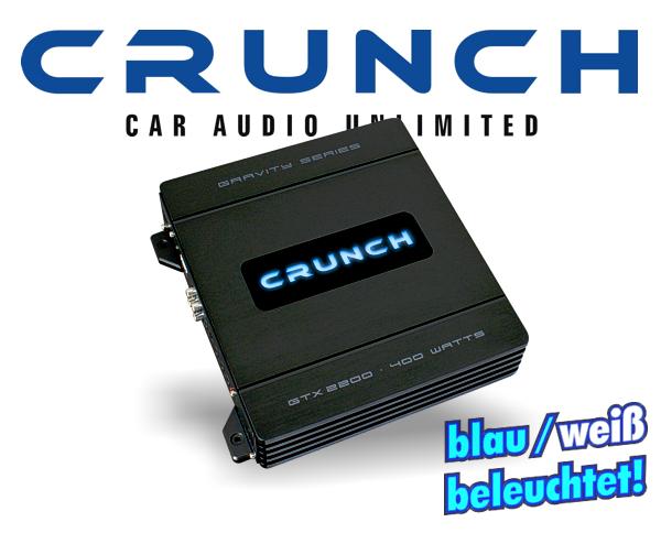 Crunch GTX-Eco Endstufe GTX-2200