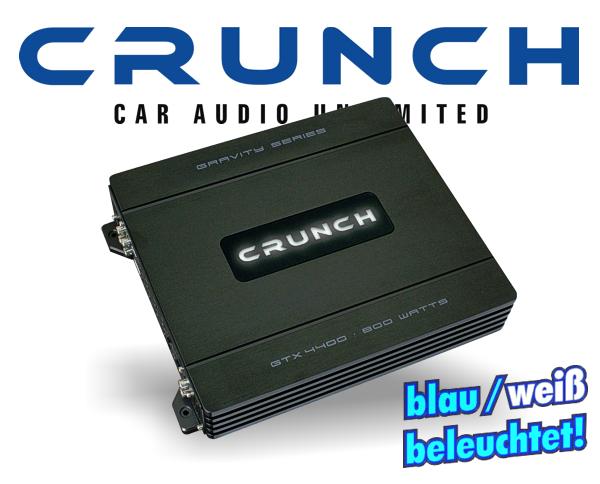 Crunch GTX-Eco Endstufe GTX-4400