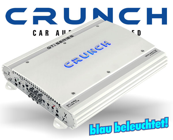 Crunch GTI Auto Verstärker Endstufe GTI-4150