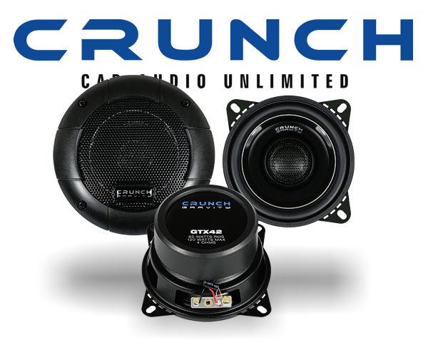 Crunch Gravity 2-Wege Auto Lautsprecher GTX-42
