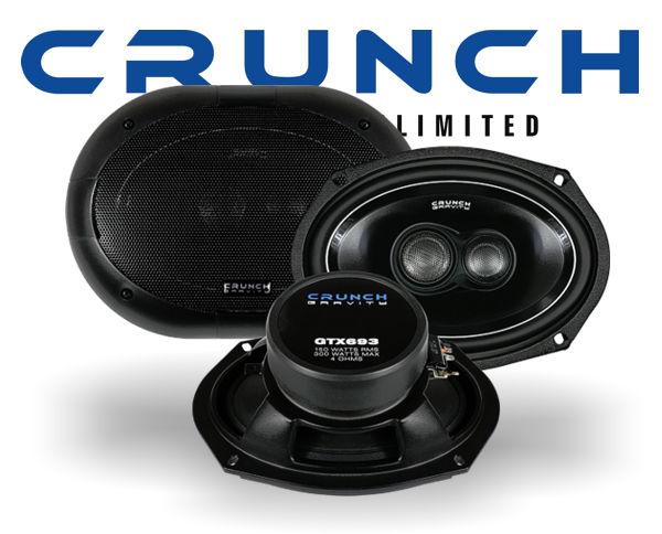 Crunch Gravity 3-Wege Auto Lautsprecher GTX-693