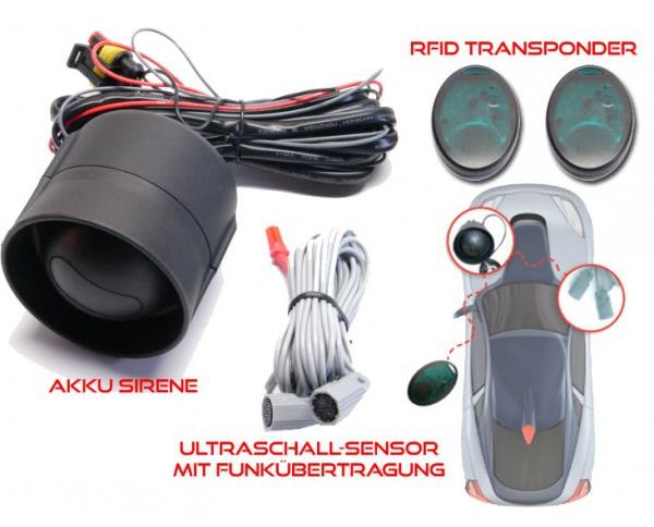 Autoalarmanlage DIY zum Selbsteinbau geeignet automatisches Schärfen und Entschärfen AP251